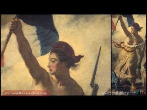 Delacroix - La Liberté guidant le Peuple - partie 1/3 - YouTube