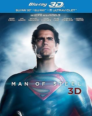 Man of #steel 2d blu ray + 3d blu ray sealed/new 3 d film/movie #(2013) #superman,  View more on the LINK: http://www.zeppy.io/product/gb/2/322182286787/