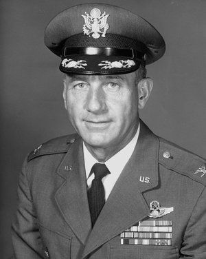 """How the NORAD Santa Tracker started.  Col. Harry Shoup came to be known as the """"Santa Colonel."""" He died in 2009."""