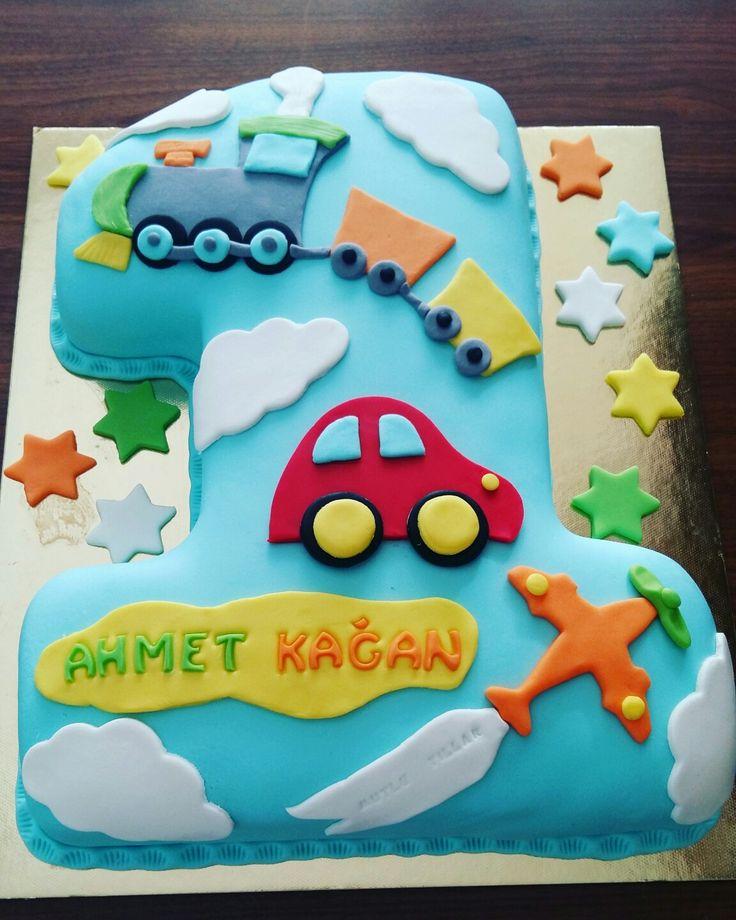 #1yaşpastası #party #birthdayboy #cakedesign