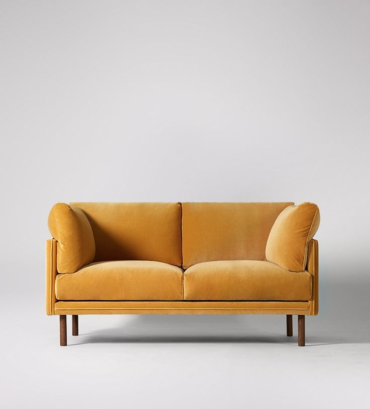 Swoon Editions Three-seater sofa, Mid-century style by Susan Castillo - £649