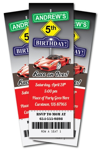 64 best images about ferrari birthday party on pinterest for Www uprint com templates