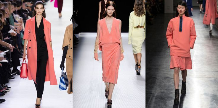 The Colors of FW14 – 10 Ways to Kick Out Black, Grey and Beige #coral #thedailydagny