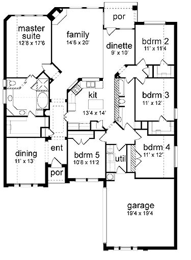 24 Best House Plans Images On Pinterest Dream House