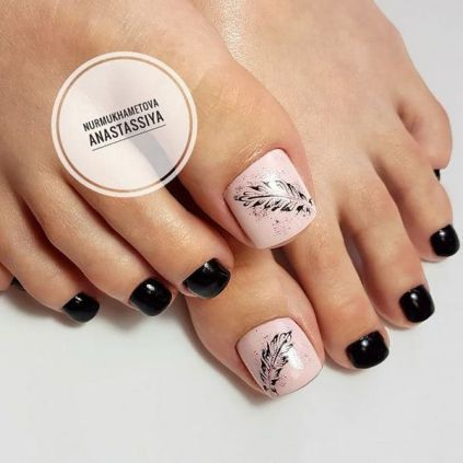 32 resource to help you become simple toe nail designs