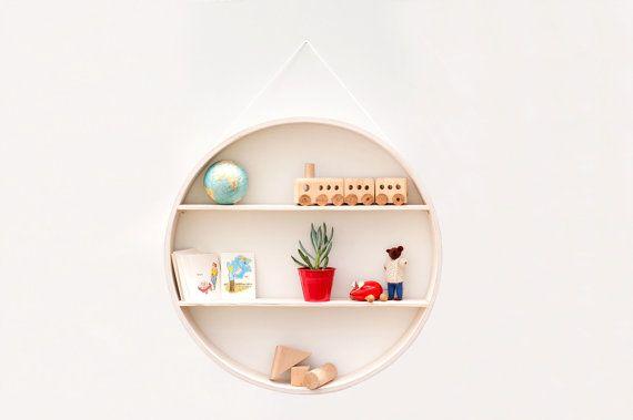 Circular shadow box to display your vintage midcentury by Senkki, $175.00