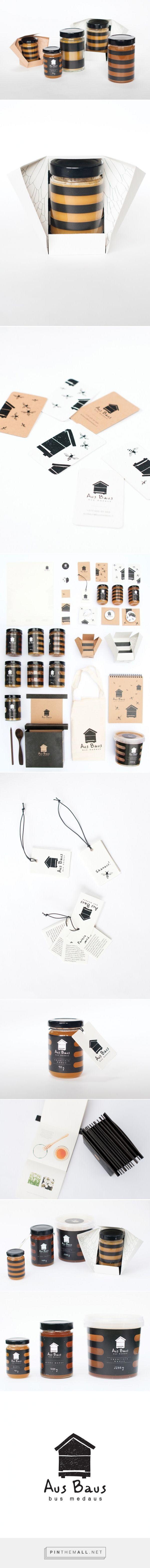 Aus Baus bus medaus #Honey #concept by Gabija Platukyte - http://www.packagingoftheworld.com/2015/01/aus-baus-bus-medaus-honey-student.html