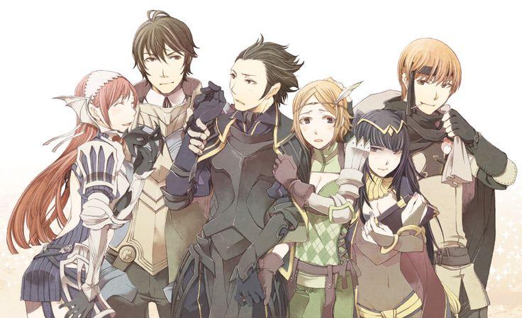 FE: A, Cherche, Frederick, Gerome, Noire, Tharja, Gaius ...