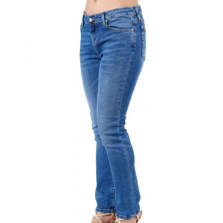 SARAH LAWRENCE Ελαστικό ψηλόμεσο skinny τζιν παντελόνι