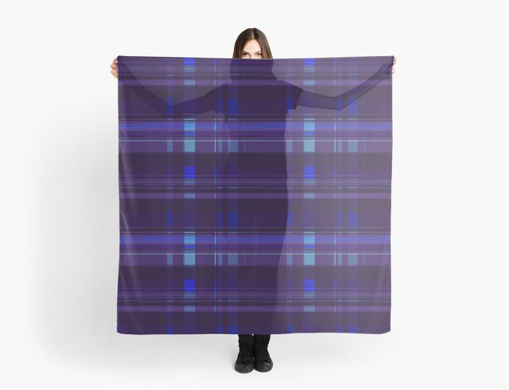 Dark Purple Scarf  by scardesign11 #scarf #plaidscarf #gifts #plaidgifts #womensgifts #scarves #buygifts #giftsforher #buyscarves #fashion #womensfashion #redbubble