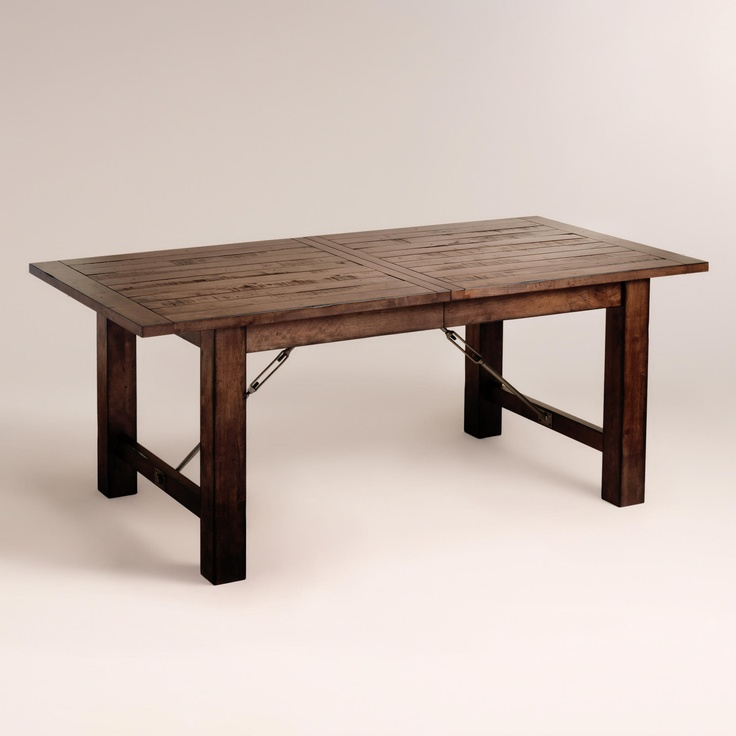 Wood Garner Extension Dining Table