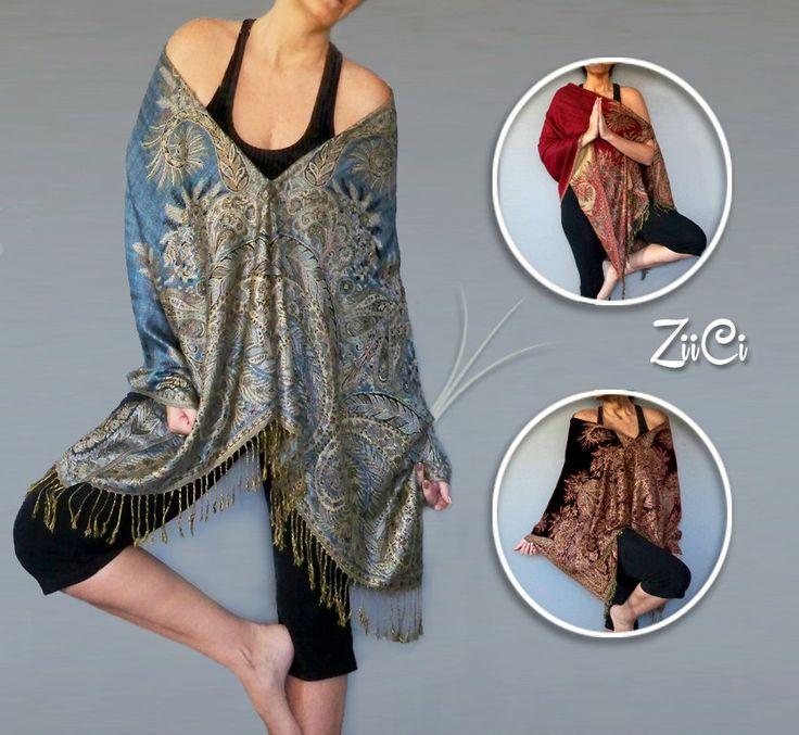 Zen Yoga Clothes |Meditation Shawl |Yoga Leggings Cover Open Sweater Loose Yoga Clothing |Plus Size Yoga Top |Plus Size Workout |Gypsy Shirt by ZiiCi on Etsy https://www.etsy.com/listing/245660835/zen-yoga-clothes-meditation-shawl-yoga