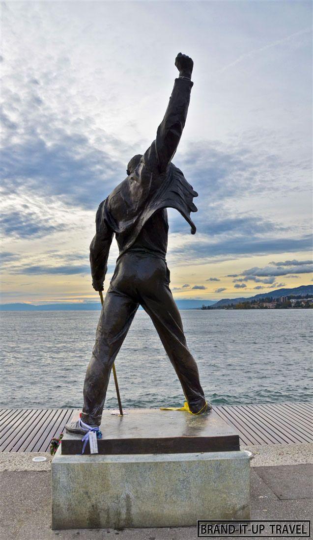 Freddy Mercury Statue - Montreux  (Switzerland) on Brand-it-up Travel - Travel Blog