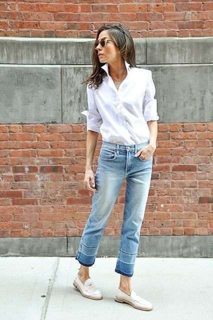 20 years later, I finally found the perfect, crisp white button-down