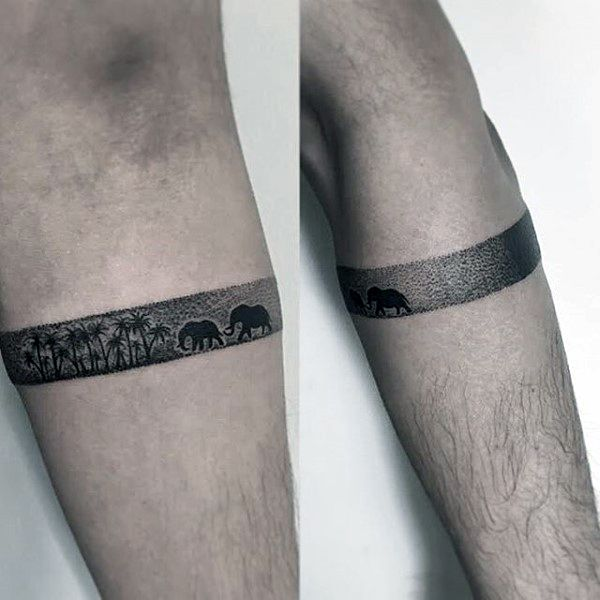 70 Armband Tattoo Designs For Men