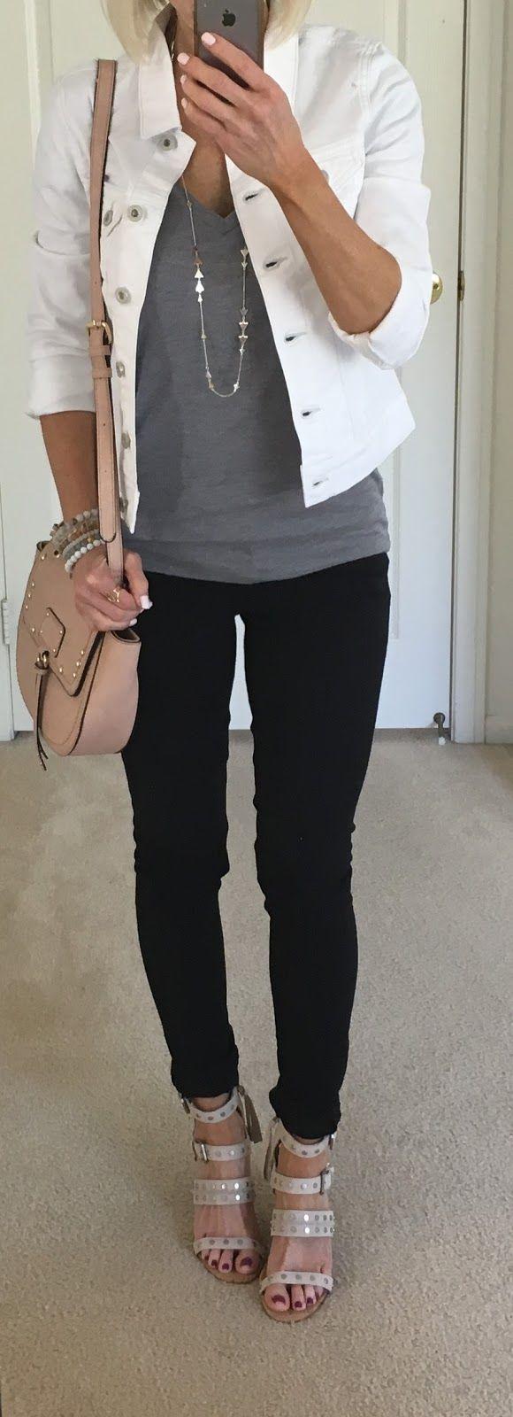 6.5.17+white+denim+jacket+grey+tee.JPG 580×1,600 pixels