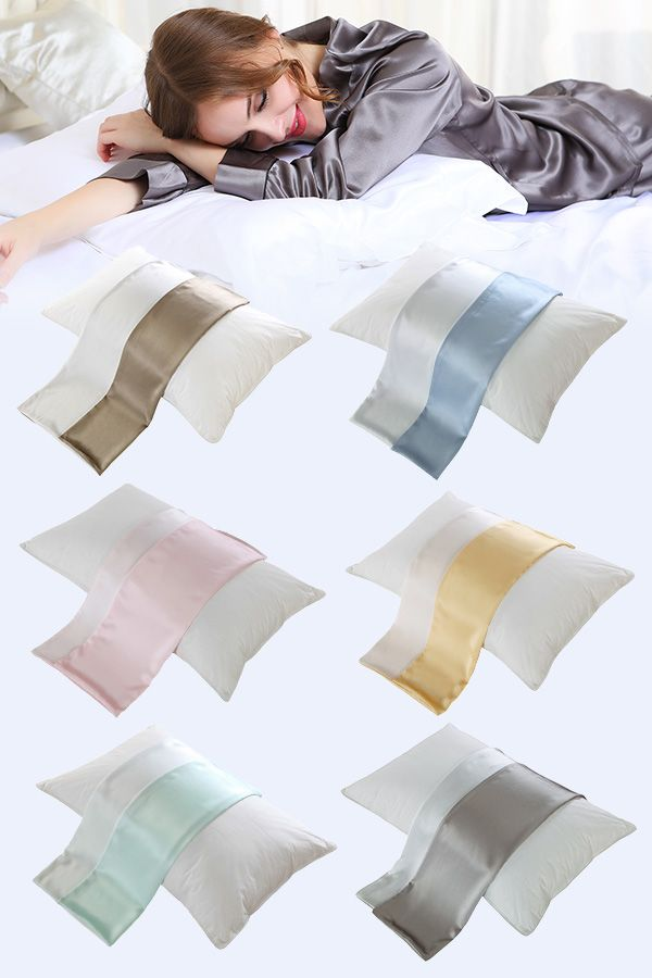 Best Silk Pillowcase For Skin Entrancing 35 Best Best Silk Pillowcase Images On Pinterest  Cushion Covers Inspiration Design