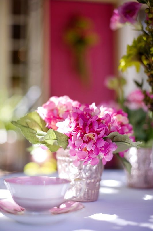 The best pink hydrangea centerpieces ideas on