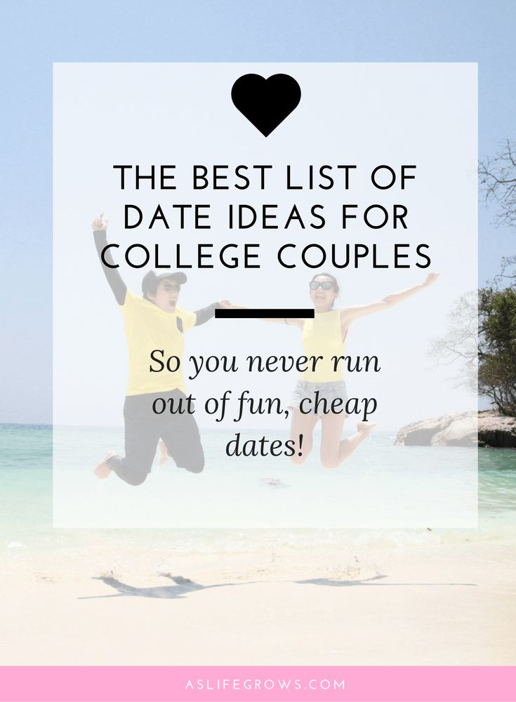 Are you and your boyfriend tired of the same old boring dates? If so, read these fun and exciting college couples bucket list ideas!