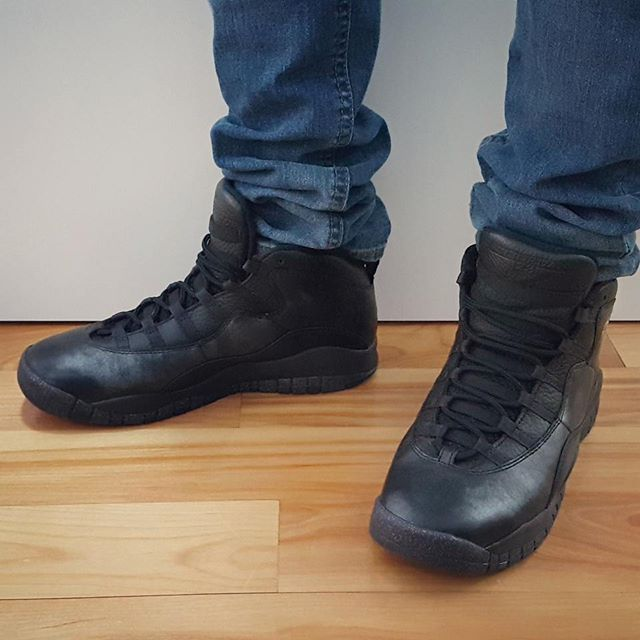 a53217c79cd1 Go check out my Air Jordan 10 Retro NYC on feet channel link in bio ...