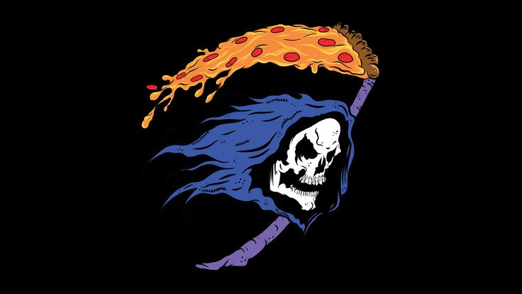 Pizza Reaper [1920 x 1080] Need #iPhone #6S #Plus #Wallpaper/ #Background for #IPhone6SPlus? Follow iPhone 6S Plus 3Wallpapers/ #Backgrounds Must to Have http://ift.tt/1SfrOMr