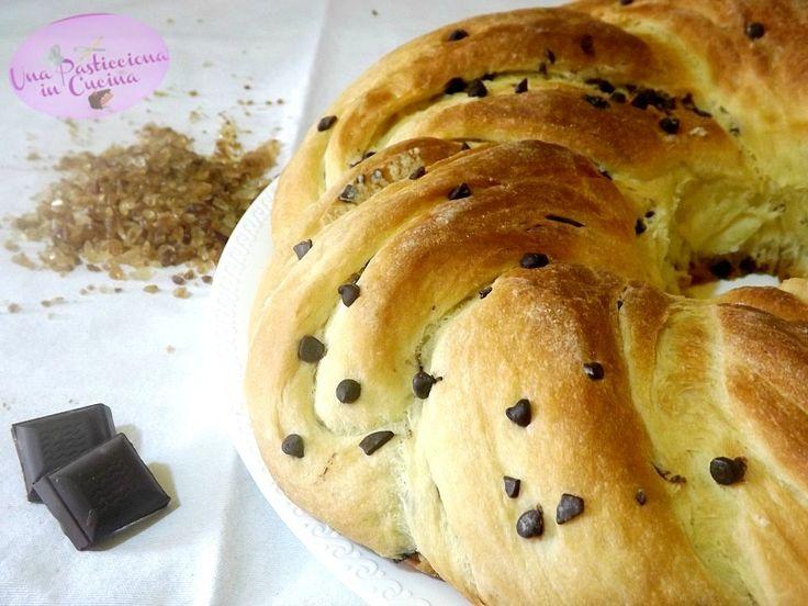 Torta+Angelica+con+Gocce+di+Cioccolato