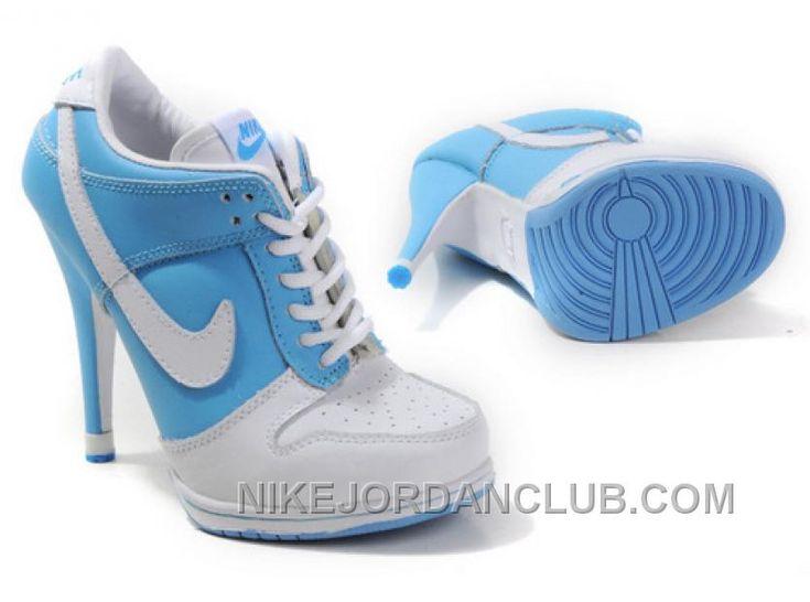 http://www.nikejordanclub.com/womens-nike-dunk-high-heels-low-shoes-light-blue-white-for-sale.html WOMEN'S NIKE DUNK HIGH HEELS LOW SHOES LIGHT BLUE/WHITE FOR SALE Only $75.40 , Free Shipping!