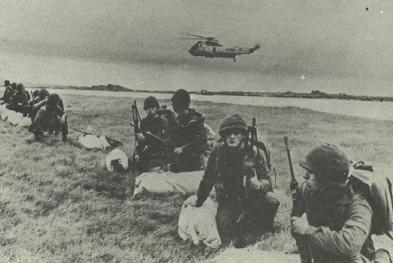 Sea King de la ARA en la Operación Rosario