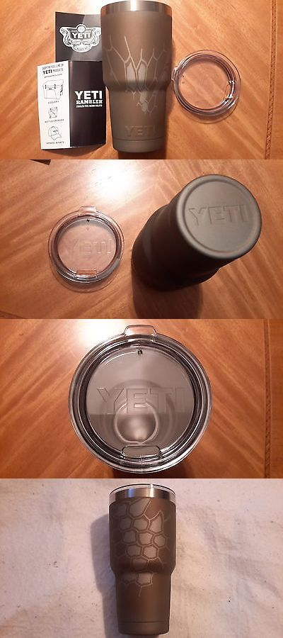 Other Camping Cooking Supplies 16036: Yeti 30Oz Rambler, Tumbler, Cup, Stainless Steel W Clear Lid, Cerakote, Kryptek -> BUY IT NOW ONLY: $65.5 on eBay!