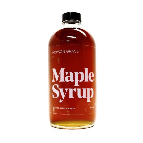 Grade A Amber Maple Syrup – HOPSON GRACE