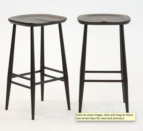Ercol bar stool from Temperature Design