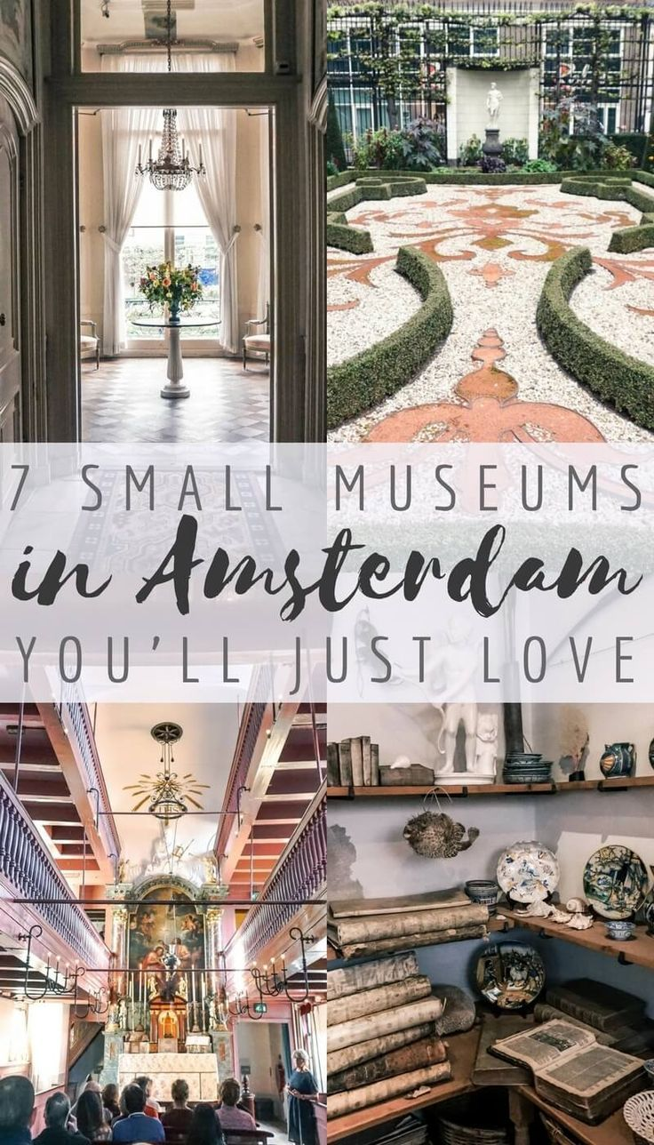 The Best of Quirky, Unusual & Small Museums in Amsterdam – Holanda | Netherlands