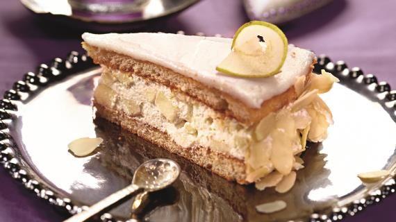 Орехово-грушевый торт. Пошаговый рецепт с фото, удобный поиск рецептов на Gastronom.ru
