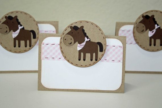Cowgirl Birthday party  Food Labels or place by JillyBearDesigns, $7.50