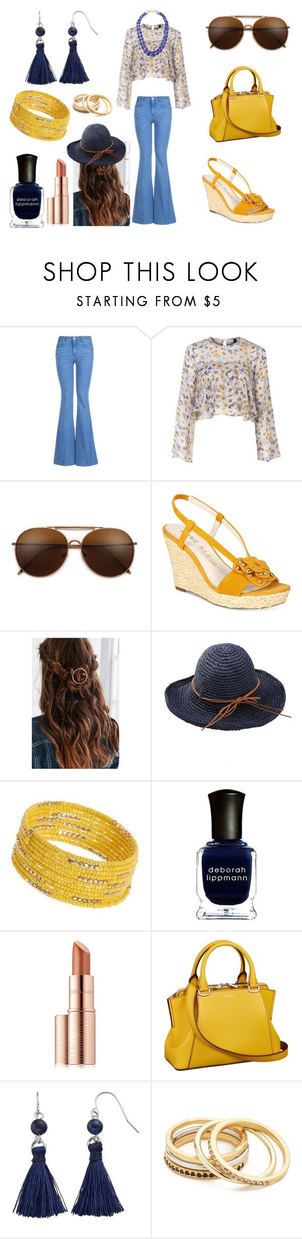 """""""Retro '70s Outfit"""" by holly32196-1 on Polyvore featuring STELLA McCARTNEY, Nobody's Child, Anne Klein, Urban Outfitters, Dorothy Perkins, Deborah Lippmann, Estée Lauder, Chaps, Madewell and Splendid Company"""