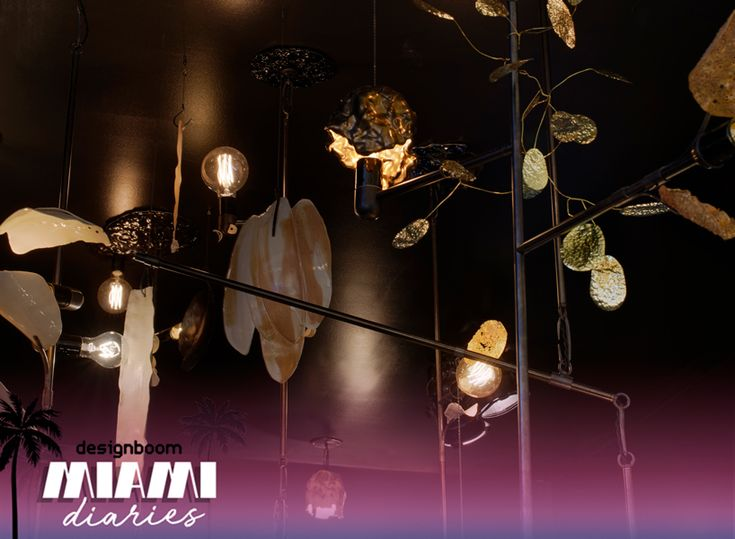 lindsey adelman debuts delicate illuminated mobiles inspired by artifacts at design miami/ | Netfloor USA