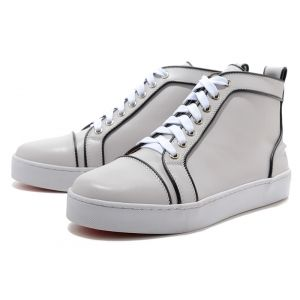 Mens Christian Louboutin Suede Flat Sneakers-Discount mens,Cheap Louboutins, Red Bottoms