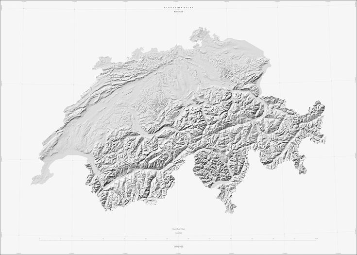 Switzerland & France Collection, Atlas of Places  ––––––  A T L A S   O F   P L A C E S  Muriz Djurdjevic & Thomas Paturet  Date : 2016 Projection CH : CH1903 / LV03 Projection FR : IGNF / Lambert 93 Data : IGN - OpenStreetMap - NASA - USG...