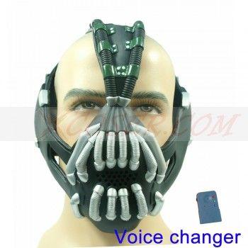 New Batman Bane Mask with Voice Changer