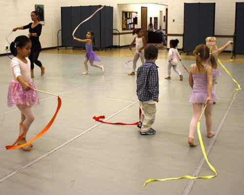 This has some fun ideas for pre-ballet/creative movement... and I need all the help I can get with the little ones!