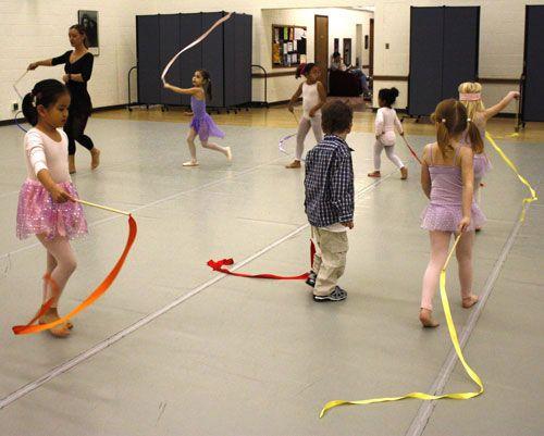 Creative Movement and Dance Lesson Ideas for Preschool children