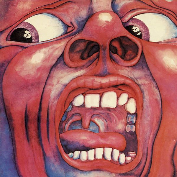 In The Court Of The Crimson King  –  King Crimson.  Probably the most Psychedelic thing I had. . .uh. . .have.