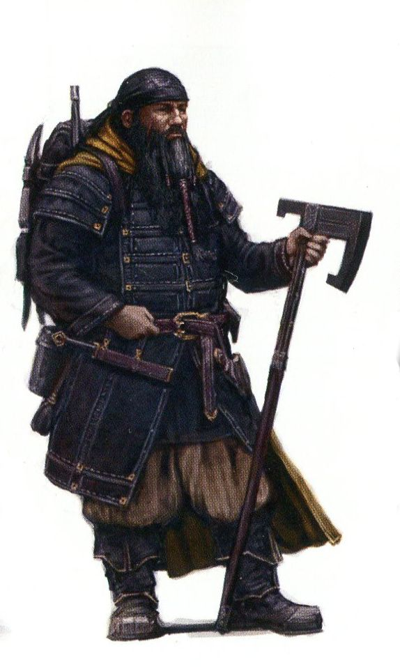 """Concept art for Bofur from """"The Hobbit: An Unexpected Journey"""" (2012). #keller"""