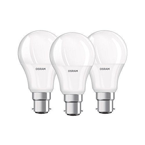 Osram Led Base Classic A In Kolbenform Mit E27 Sockel Nicht Dimmbar Bulb Light Bulb Candle Led Candle Lights