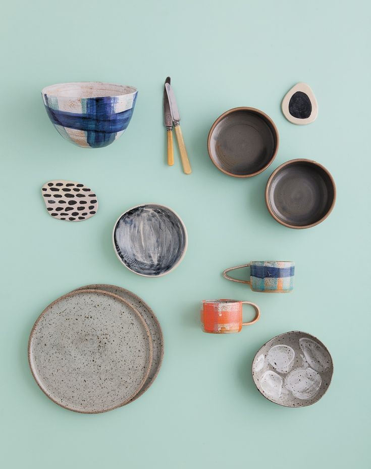 Ceramics + tableware featured in Lunch Lady Issue One. Lunch Lady Magazine available at http://shop.hellolunchlady.com.au/