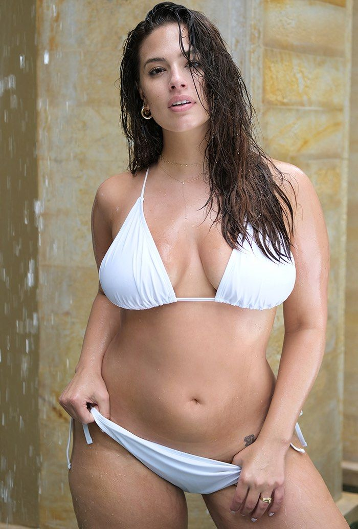 ce5ad98416b Ashley Graham x Swimsuits For All Icon White Bikini | Swimsuits For All