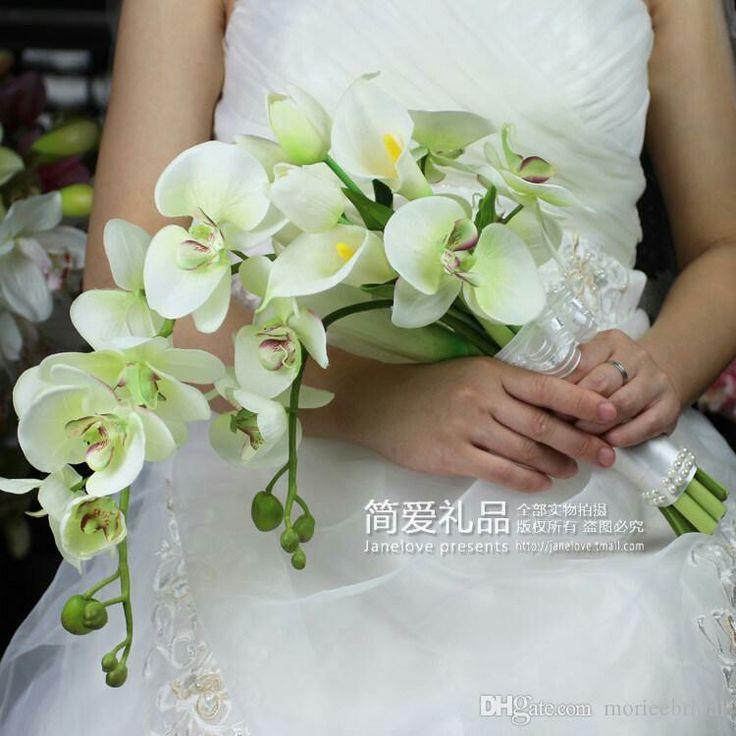 Orchid green bouquet orchidea wedding matrimonio
