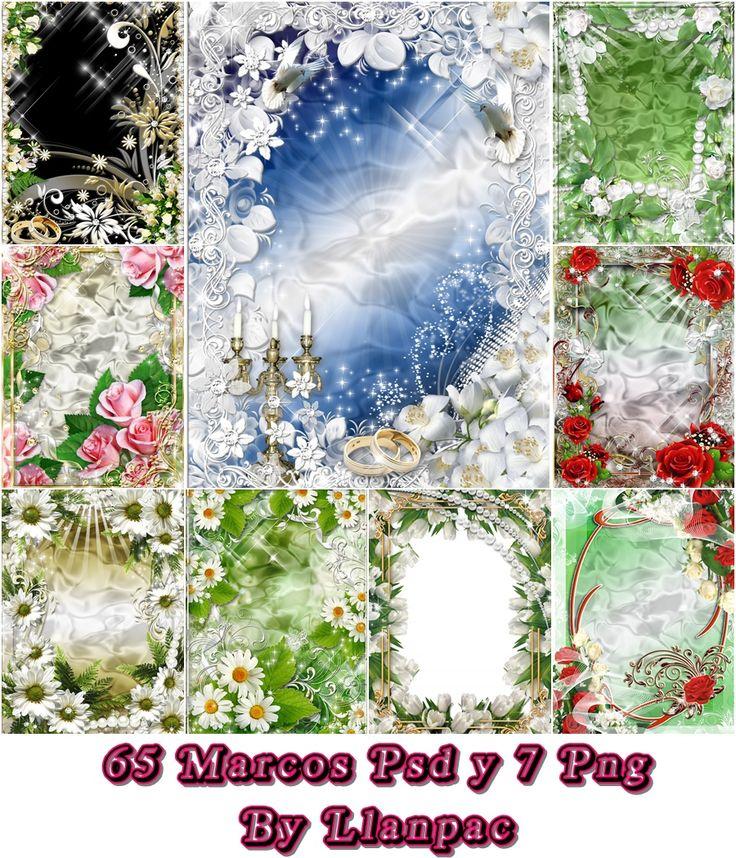 ulobenc: Coleccion de Marcos romanticos para Fotomontajes (Psd o Png)