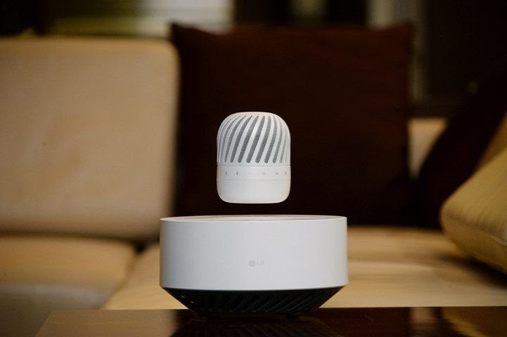 Pour le CES 2017, LG va présenter un haut-parleur qui lévite - Frandroid