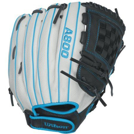 Wilson Aura Infield Fast Pitch Softball Glove, 12 inch, White